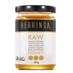 Berringa - Australian Certified Organic Eucalyptus Honey (500g) - Everyday Use BEBE010