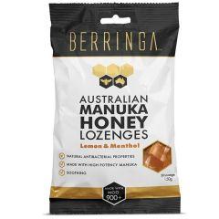 Berringa - 麥蘆卡蜂蜜潤喉糖 MGO900+ 特強抗菌 紓緩喉痛 (30粒) BEBE011