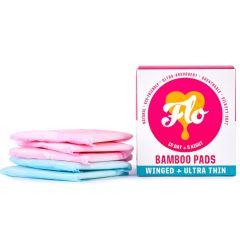Flo - Organic Bamboo Pad Combo Pack (10 Day & 5 Night Pads)BEFL001
