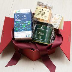 品穀源 - 澳洲有機養生禮盒 (藍莓粉 | 羽衣甘藍粉 | 檸檬無花果椰子鬆) BEGS001