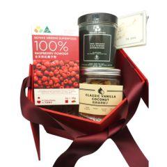 品穀源 - 澳洲有機養生禮盒 (紅桑子粉 | 羽衣甘藍粉 | 香草椰子鬆) BEGS003