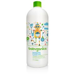 Babyganics - Dish & Bottle Soap - Fragrance Free 946ml Refill BG-012023