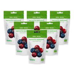 BIOKIA -  Organic Dried Berry Mix 50g x 6packs  BIDBM-50x6