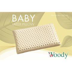 Woody - 馬來西亞 100% 全天然乳膠嬰兒枕 BIGBP43S