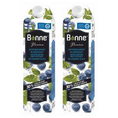 Bonne - 芬蘭野生藍莓汁1L (2支)