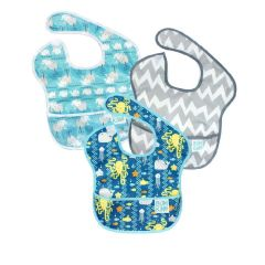 Bumkins - Super Bibs 3-packs - Boy E BKS3B90