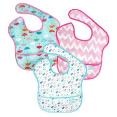 Bumkins - Super Bibs 3-packs - Girl F BKS3G67