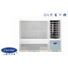 Carrier - 3/4HP Window Type Air Conditioner CHK07LNE BL_CHK07LNE