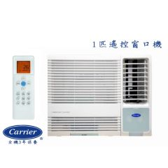 Carrier - 1 HPWindow Type Air Conditioner - Remote Type CHK09ENE BL_CHK09ENE