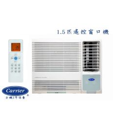 Carrier - 1.5 HP Remote Window Type Air Conditioner CHK12ENE BL_CHK12ENE