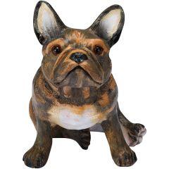 "Chapman Scuptures French Bulldog Hand PaintedSolid Ceramic Status 5.7"" (Brindle) C0007CSDFBL"