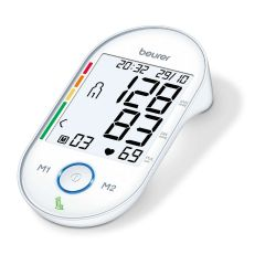 Beurer BM55 Upper Arm White XL Display Blood Pressure Monitor (2 x 60 memories)35-44cm C02232
