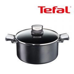 Tefal - 24厘米專業易潔雙耳煲(電磁爐適用) C62046 [法國製造] C62046