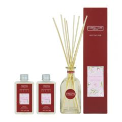Carroll&Chan- 200ml Jasmine Rose Cranberry Reed Diffuser C_DS200_JA-RO-CR