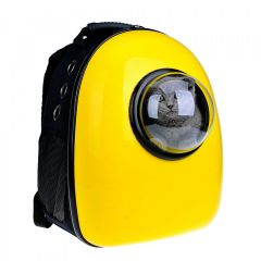 U-pet - Bubble Pet Carriers Backpack (Yellow) CB009F-Yellow