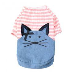 Blue Port - 貓咪可愛老鼠T恤 CDT078-all