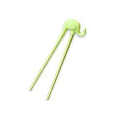 Cornflower - Baby Elephant Training Chopsticks - Green CFL-K77G