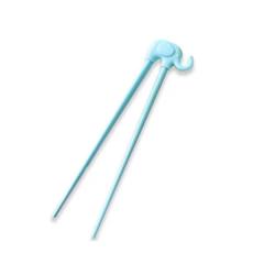 Cornflower - Baby Elephant Training Chopsticks - Blue CFL-K77L