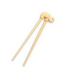 Cornflower - Baby Elephant Training Chopsticks - Yellow CFL-K77Y