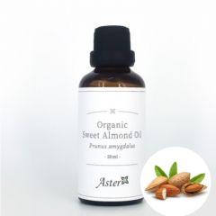 Aster Aroma Organic Sweet Almond Oil (Prunus amygdalus) - 50ml CL-010190100O
