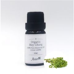 Aster Aroma Organic May Chang Essential Oil (Litsea cubeba) - 10ml CL-020320005