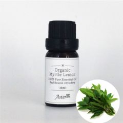 Aster Aroma Organic Lemon Myrtle Essential Oil (Backhousia citriodora) - 10ml CL-020340010O
