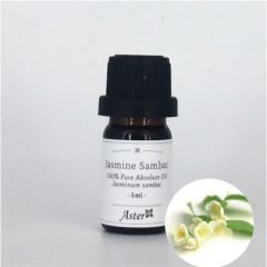 Aster Aroma Jasmine Sambac Absolute Oil (Jasminum sambac) - 5ml CL-020520010O