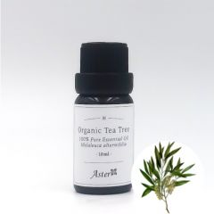 Aster Aroma Organic Tea Tree Essential Oil (Melaleuca alternifolia) - 10ml CL-020580010