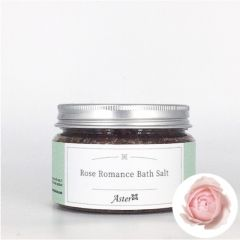 Aster Aroma Rose Romance Bath Salt 125g CL-070050150