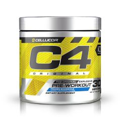 Cellucor C4 Original 195g - Icy Blue Razz (Pre - workout) CLCC4OPREWIBR195G