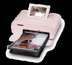 Canon SELPHY CP1300 粉紅色輕巧相片打印機