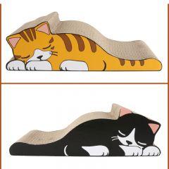 DEKU 貓抓板-X18 (雙面懶懶貓) (DS24)
