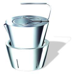 Metier -「井」茶壺及加熱座 D0013
