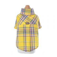 H.CHOUCHOU - 經典黃色格仔衣服