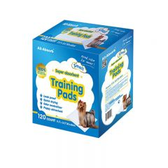 DDAAPRM160 All-Absorb - Super Absorbent Training Pads - For Small Dogs