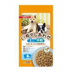 日清 - 專為1-6歲成犬調配均衡營養食糧 1.5Kg (375g x 4袋)
