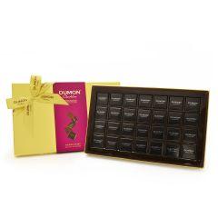 DUMON Chocolatier - 片裝72%黑朱古力金裝禮盒