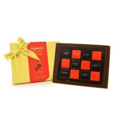 DUMON Chocolatier - 片裝朱古力薈萃金裝禮盒