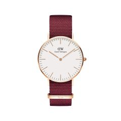 DW Classic Roselyn Watch RG White 36mm DW00100280