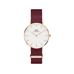 DW Classic Petite Roselyn Watch RG White 32mm DW00100294