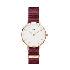 DW Classic Petite Roselyn Watch RG White 28mm DW0040000_S