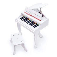 Hape 30鍵電鋼琴-白 E0338