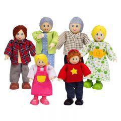 Hape 娃娃屋家庭 E3500