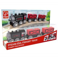 Hape Steam-Era Freight Train E3717