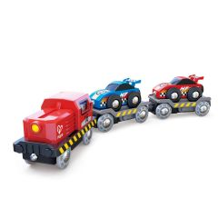 Hape Race Car Transporter E3735