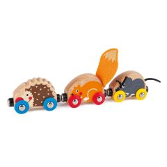 Hape Tactile Animal Train E3817