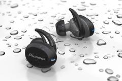 Pioneer SE-E8TW 全無線入耳式運動耳機 - 灰色