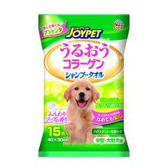 大塚 - JOYPET透明質酸潤膚洗澡紙巾 - 中大型犬用