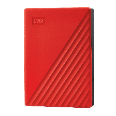 """Western Digital - My Passport™ 2.5"""" 4TB USB 3.2 Gen 1 Drive WDBPKJ0040BRD - Red EHDWESWDBPKJ0040BRD"""