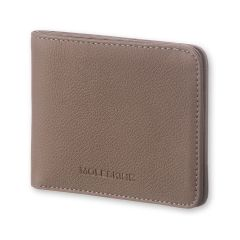 Moleskine - LINEAGE LEATHER HORIZONTAL WALLET TAUPE ET64LNWLORP8